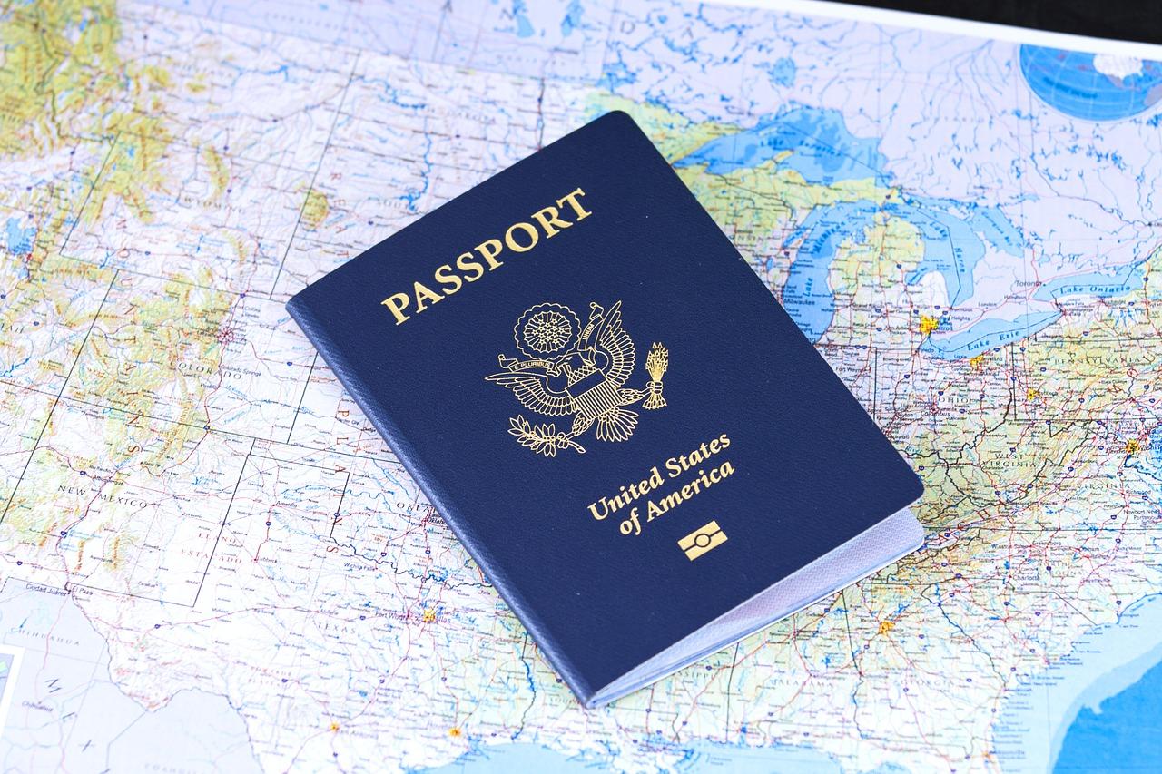 passport mapmonde